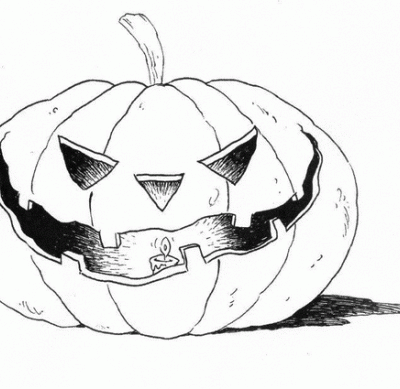 Disegni Zucca di Halloween da colorare f9aeb6c1aad3