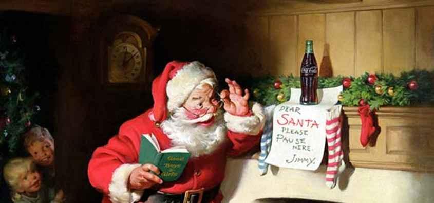 Coca Cola Babbo Natale.Babbo Natale Coca Cola