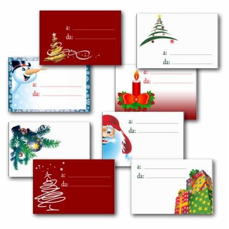 Biglietti Per Regali Di Natale Da Stampare.Biglietti Per I Regali Di Natale