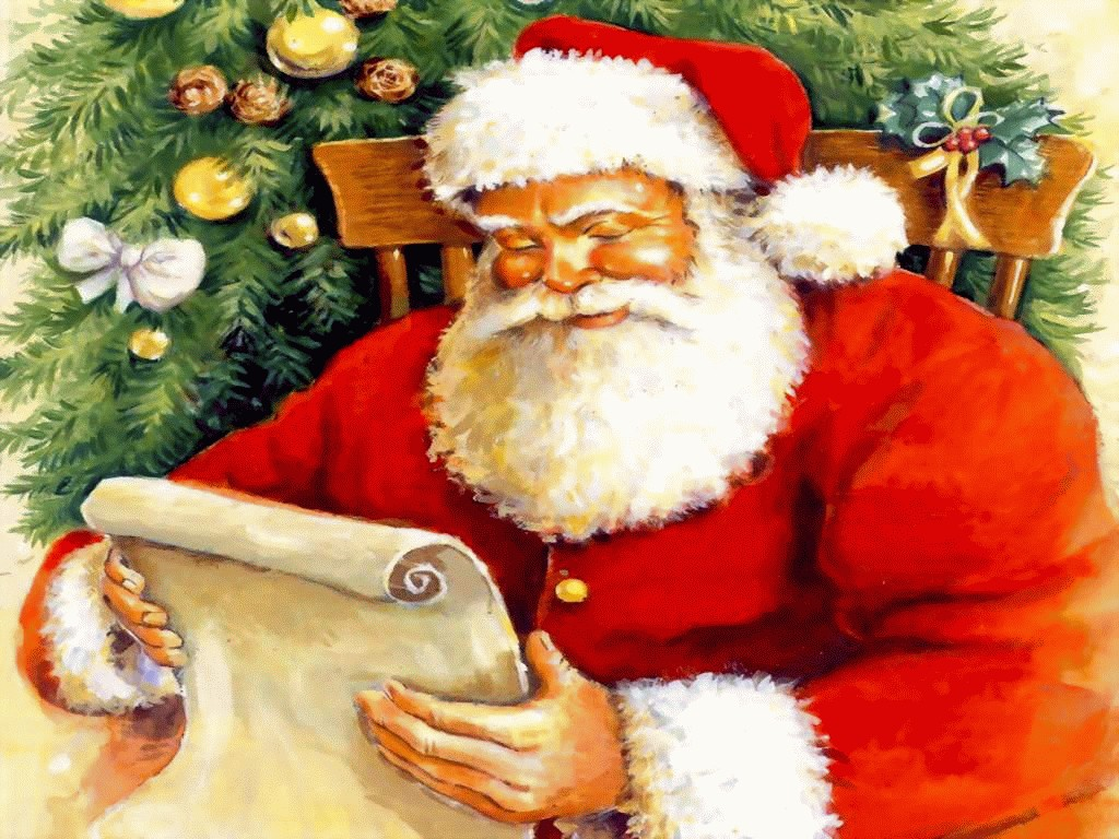 Sfondi Babbo Natale.Wallpaper Babbo Natale