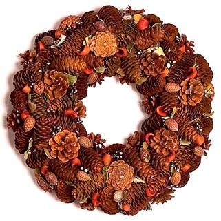 Decorazioni di Natale: Ghirlande Natalizie di Pigne