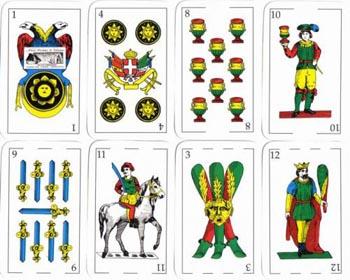 Giochi di carte la briscola for Due di bastoni carte napoletane