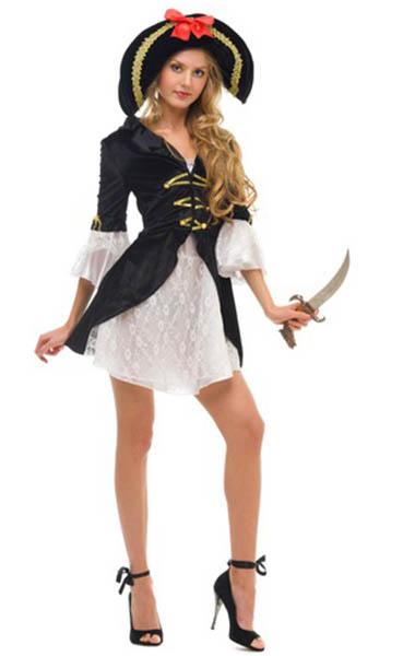 Favoloso Costumi Carnevale fai da te: La piratessa KI54