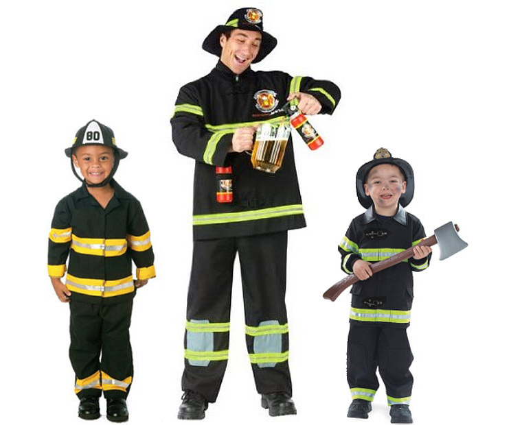 Costume da pompiere - Costumi fai da te 23703cab478b