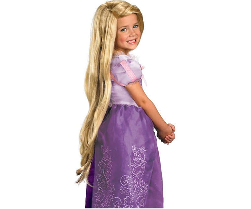 8bbe94a0b7ab Costume Rapunzel Fai da te - Costumi di Carnevale
