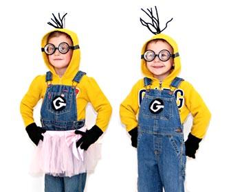 Minions vestito da carnevale