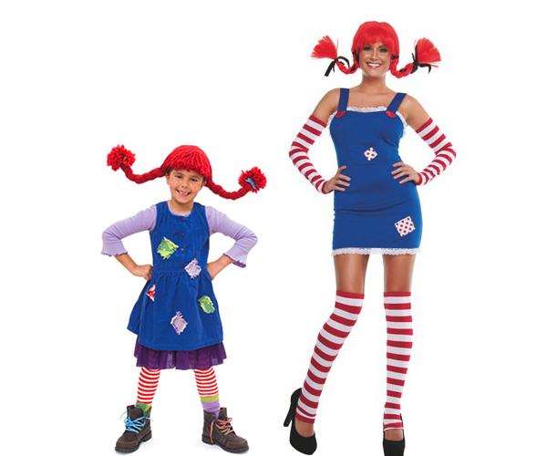 costume di pippi calzelunghe fatto in casa