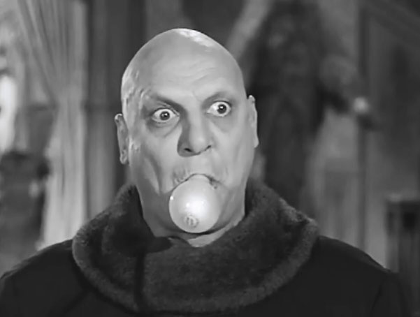 Costume Halloween Zio Fester Addams