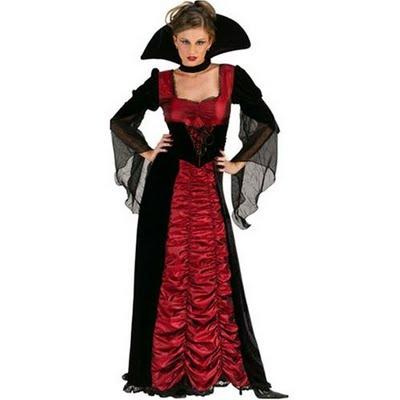 Costume Vampira per Halloween fai da te 520d737580f0