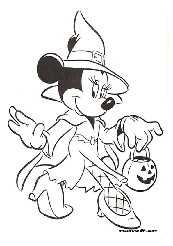 Halloween Disegni Da Colorare Disney