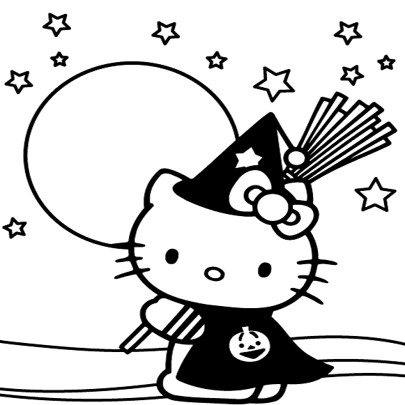 Hello Kitty Hawaiian Coloring Pages : Free hawaii hello kitty coloring pages