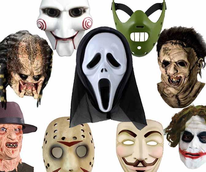 Halloween Maschere.Maschere Di Halloween Horror Spaventose Maschere In Silicone