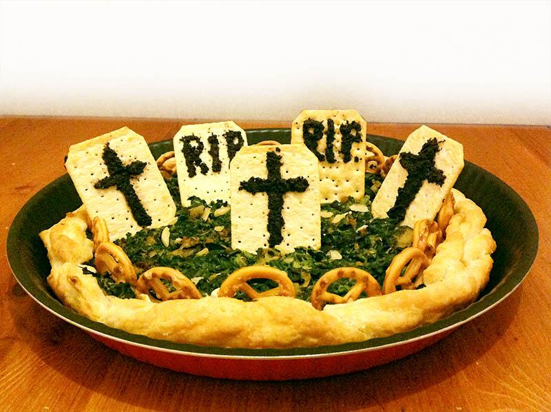 Ben noto Pizza Cimitero di Verdure - Ricetta Halloween PG29