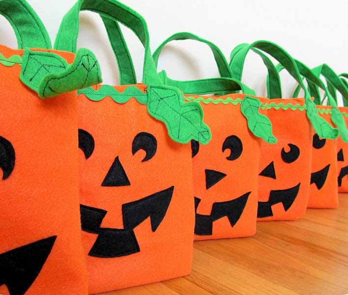 Sacchetti Halloween Fai da te b831ef3bda8b