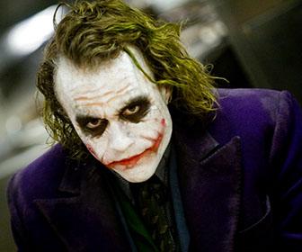 trucco halloween joker