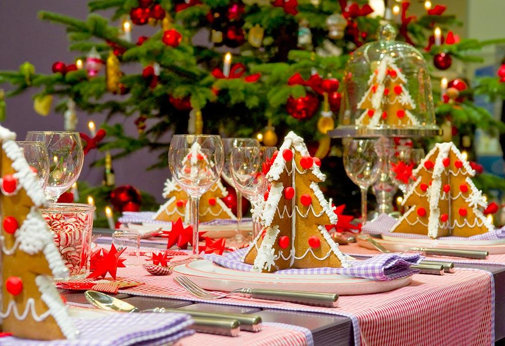 Tavolo Compleanno Natale : Come apparecchiare la tavola a natale