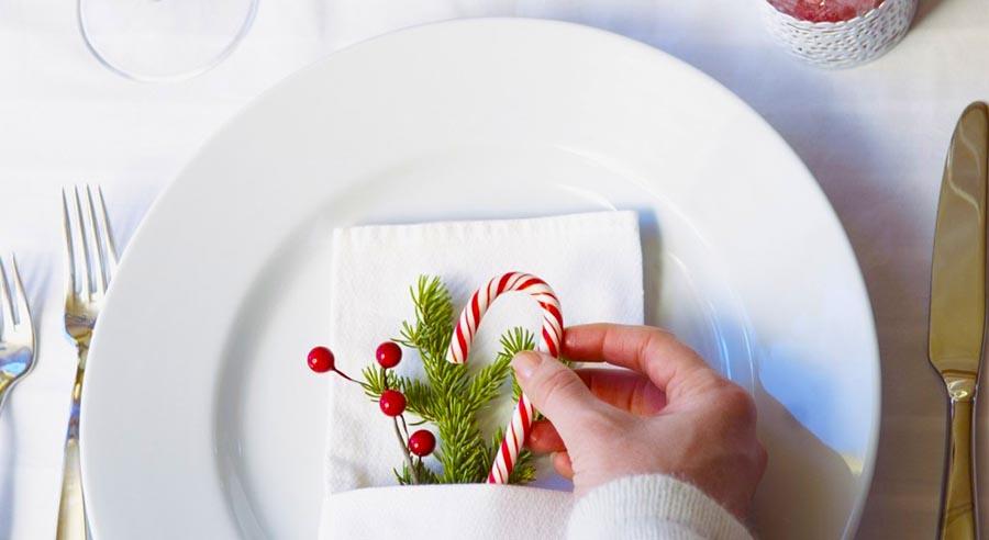 Come apparecchiare la tavola a natale - La tavola di natale decorazioni ...