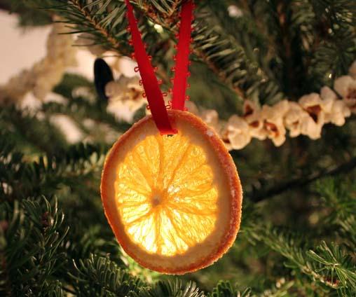 Arance Per Decorazioni Natalizie.Decorazioni Per L Albero Di Natale Con Le Arance Secche