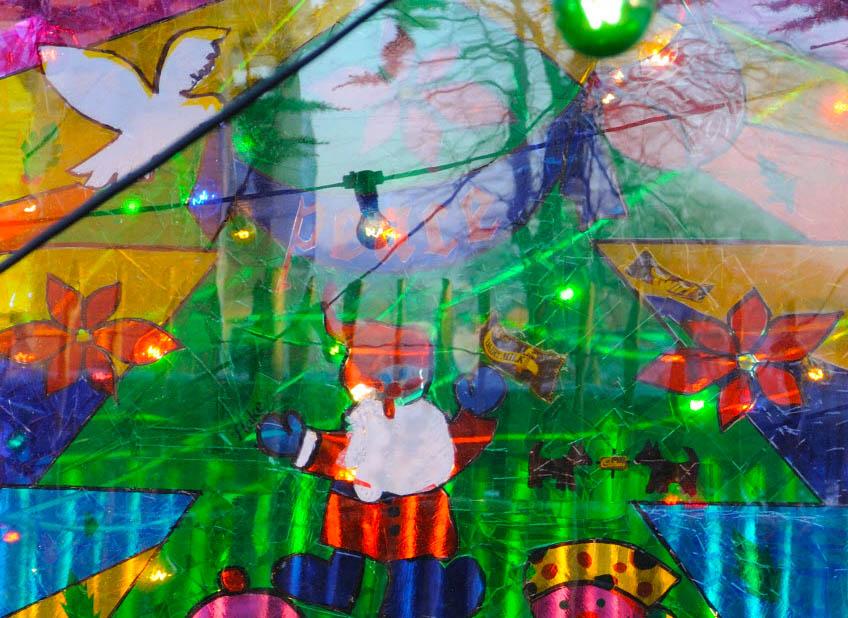 Decorazioni su vetro natalizie - Decorazioni vetro ...