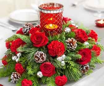 Addobbare la tavola per natale - Addobbi natalizi sulla tavola ...
