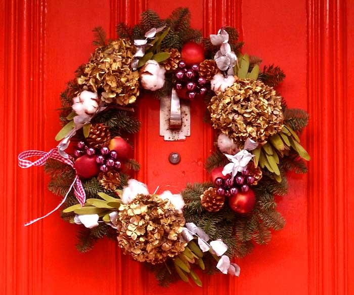 Immagini Di Ghirlande Di Natale.Idee E Consigli Per Le Ghirlande Di Natale