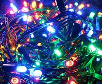 Illuminazione natalizia luci di natale da esterno e interno for Luci led piccole