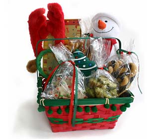 Popolare Come preparare i cestini di Natale TT75