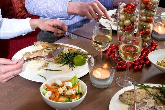 menu pranzo di natale a base di pesce