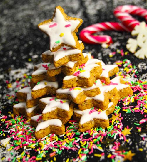 Ricetta Stella Di Natale.Ricetta Biscotti Stella Di Natale