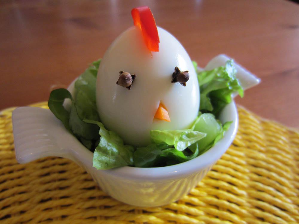 Uova pulcino e funghetto di pasqua - Uova decorate per bambini ...